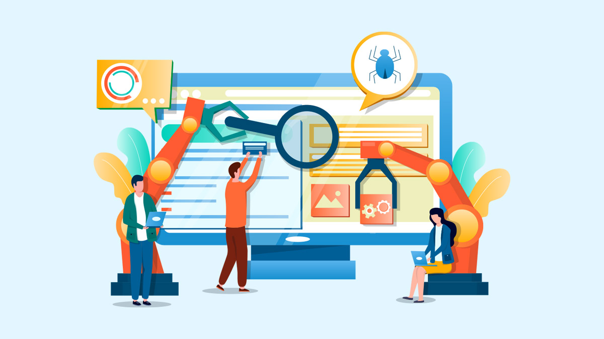What are the different levels of Web automation testing?